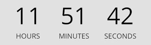 Countdown</br>カウントダウン