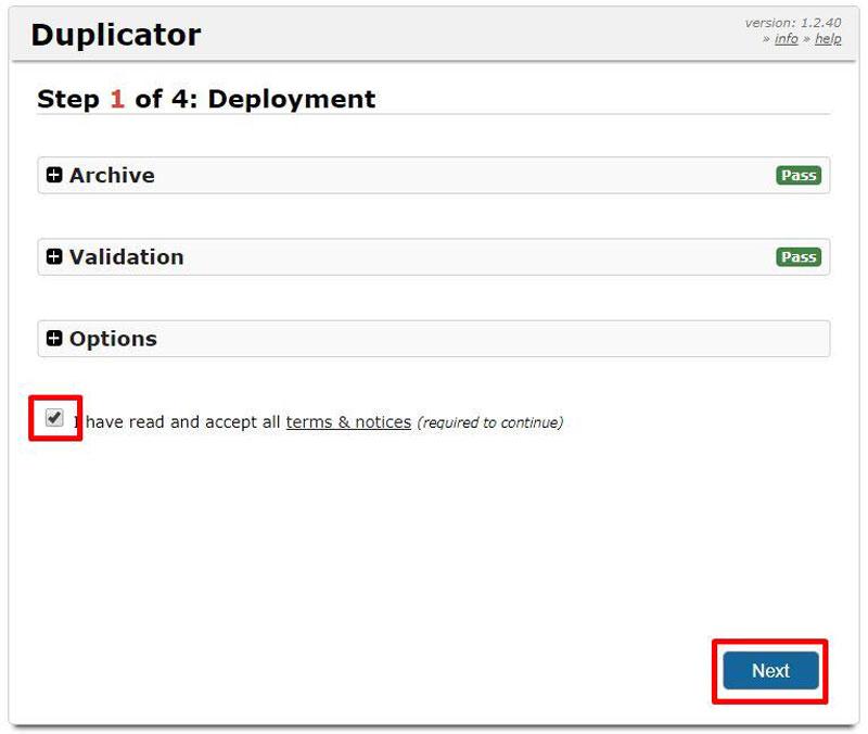 Duplicatorでテストサイトを作る方法